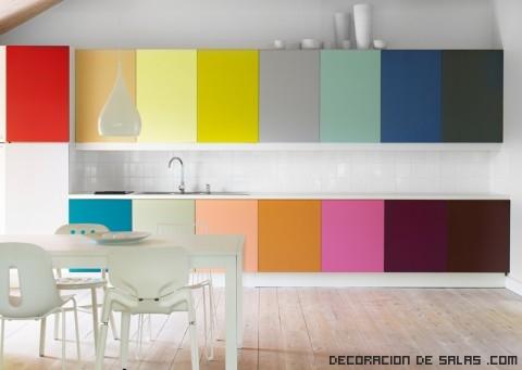 colores vibrantes para cocina