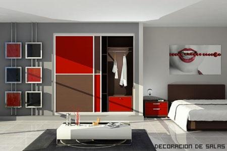 Armario Rojo
