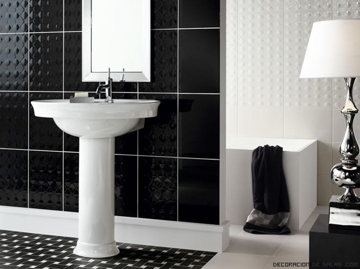 Combinación de colores en baños