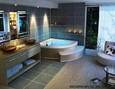 bañeras vintage en casa