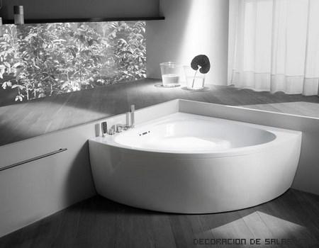 Bañeras blancas