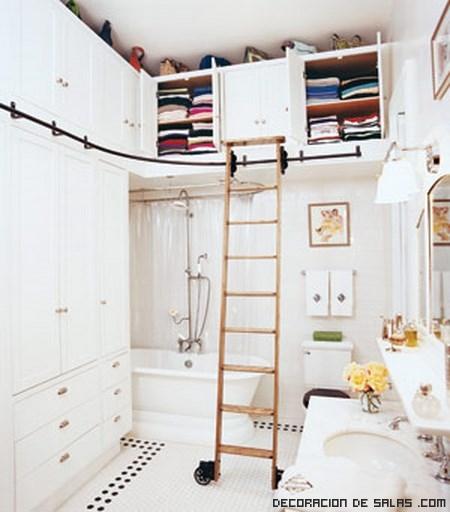 armarios empotrados en color blanco