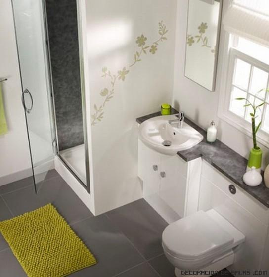 baños pequeños decorados modernos
