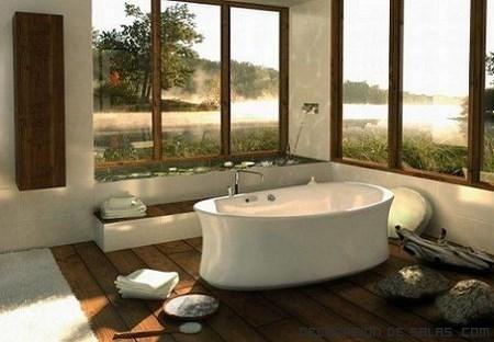 Bañeras decoradas
