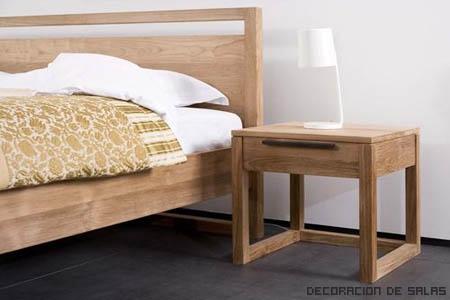 cama y mesilla