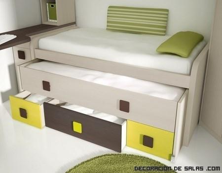 Muebles funcionales juveniles