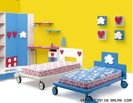 camas juveniles con ruedas