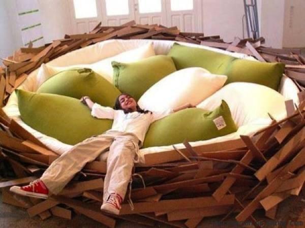 camas de colores divertidas