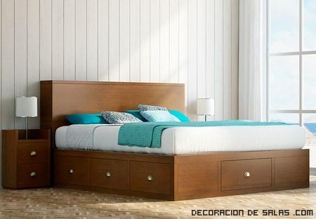 camas en madera