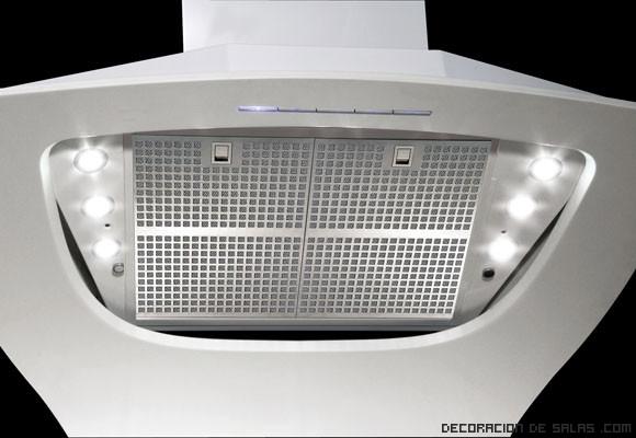 Campanas con iluminación LED