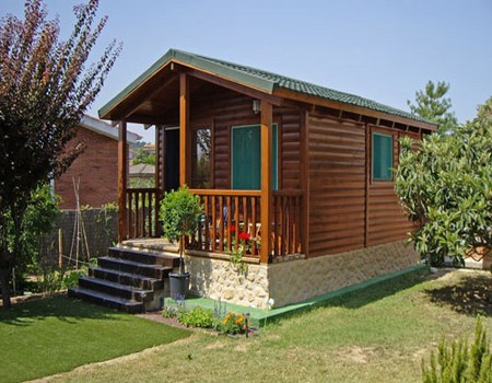 Casas fabricadas con materiales reciclados