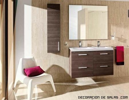 baños modernos en madera