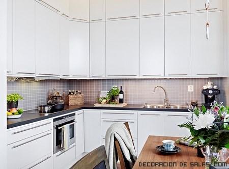 ideas para aprovechar luz en cocinas