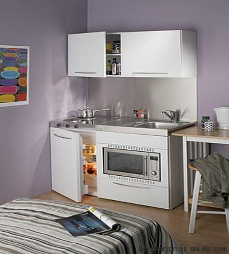 cocinas pequeñas y funcionales