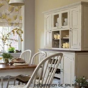 sillas de cocina en color crema