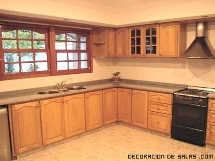 cocinas rústicas para casas de campo