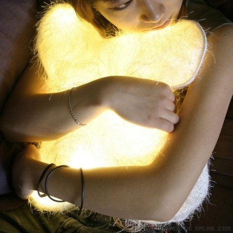 Cojines con luz