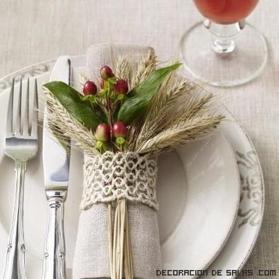 mesas decoradas en navidad