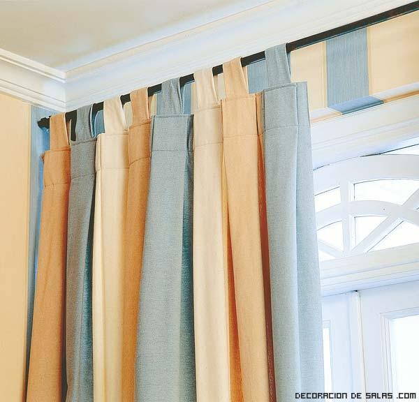 cortinas más usadas