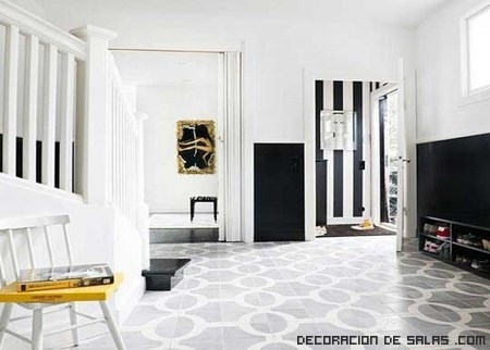 Interiores en color blanco