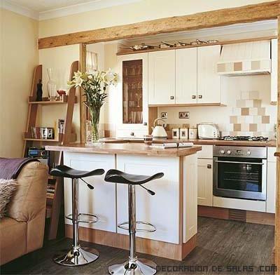 Cocinas en madera clásicas