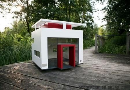 casas modernas para perros