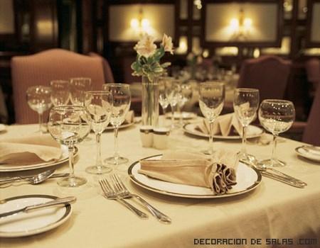 Ideas para decorar las  mesas de comedor