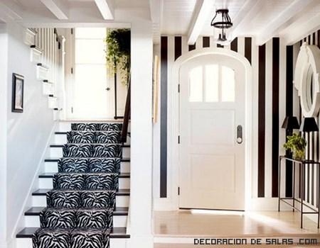 Alfombras estampadas para escaleras