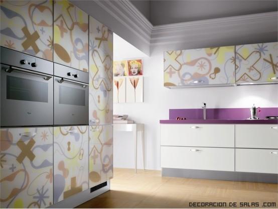 cocinas modernas con dibujos