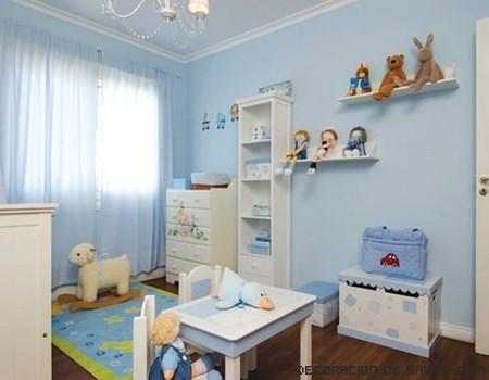Habitaciones en azul para bebés