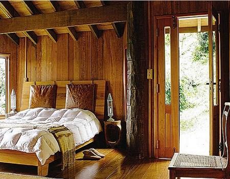 dormitorios decorados en madera