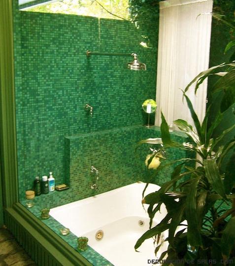 Azulejos de colores para duchas