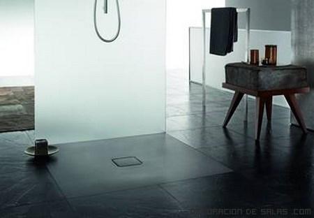 Duchas sencillas para casas modernas