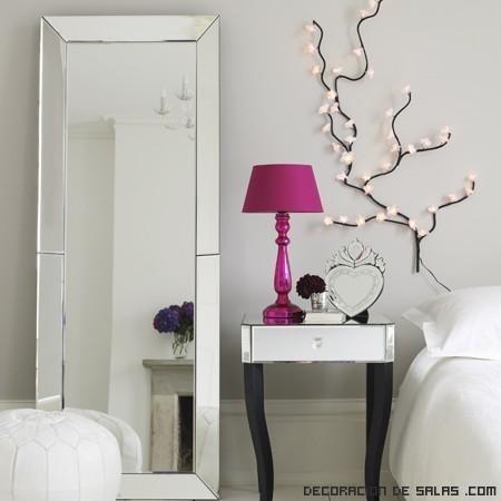 Espejos con marcos anchos