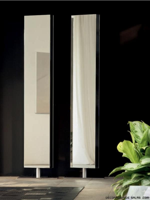 espejos sencillos para salones