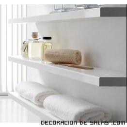 estanterías para baños modernos