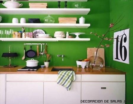 estantes para las cocinas