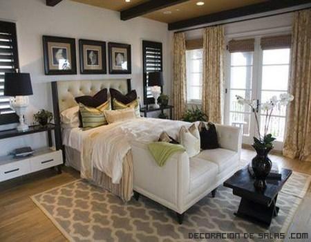 dormitorios con estilo californiano
