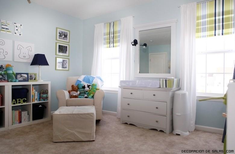 tipos de cortinas para dormitorios