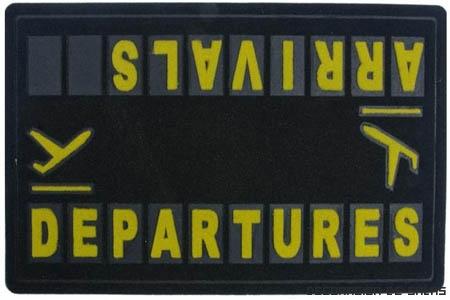 Felpudo aeropuerto