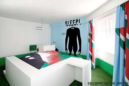 habitación monstruo