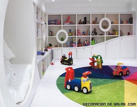 habitaciones infantiles en pisos