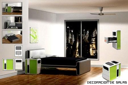 Interior de Habitacion Doble