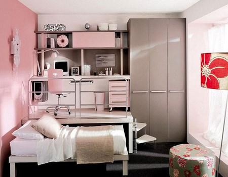 habitaciones en color rosa