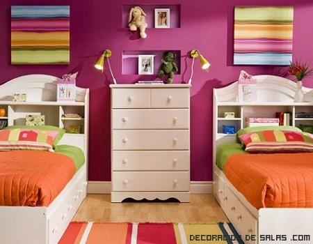 colores llamativos para habitacionnes