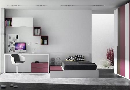 habitaciones pintadas en blanco
