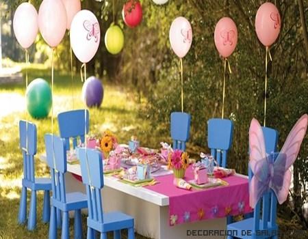 mesas de jardín para niños