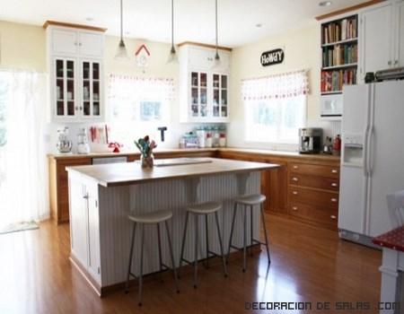 Cómo aprovechar la isla de una cocina | Decoración de Salas