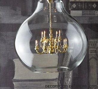 lámparas clásicas para casas vintage