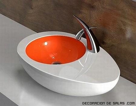 lavabos de colores